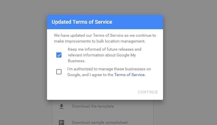 Add business profile on Google map