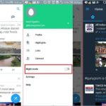 Enable Night mode in Twitter app on android mobile