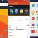 Android mobile view like iPhone screen and feel