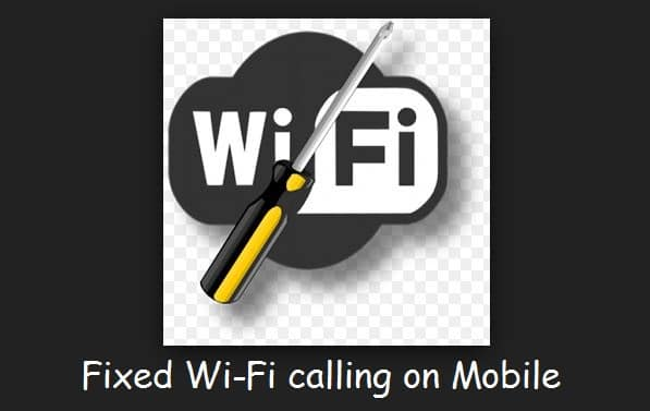 Wi-Fi call not working on android mobile