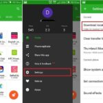 Change Xender storage location in Android mobile or Tablets