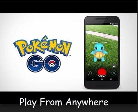 Download Pokémon go Outside USA and install pokemon got in android