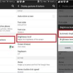 Turn on or Enable auto screen brightness in android mobile