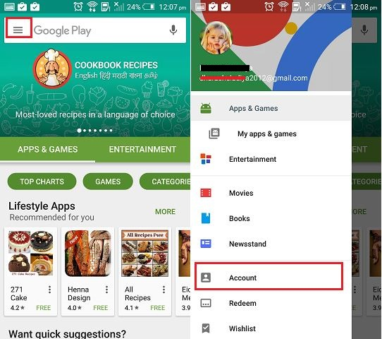 Disable auto update app in android mobile