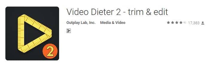 Video Dieter 2 video making apps