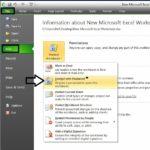 1 Set Password in MS Excel 2010
