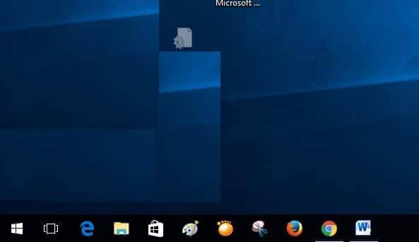 2 cortana search hidden on windows 10 taskbar