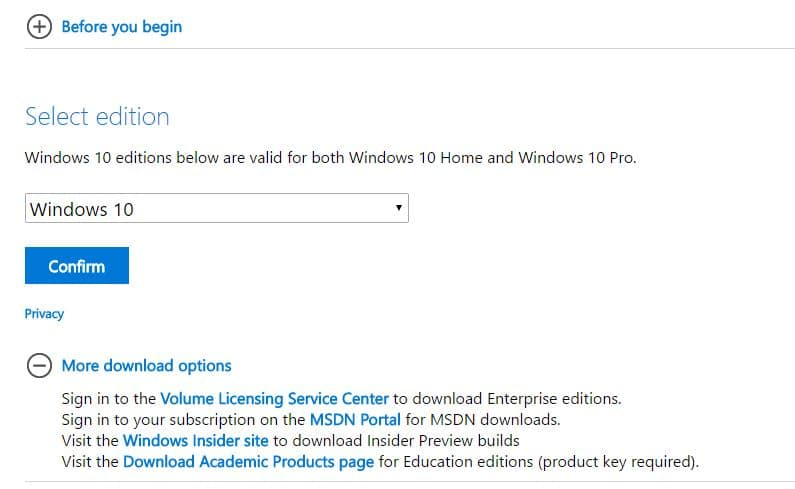 4 Download windows 10 iSO file downloader
