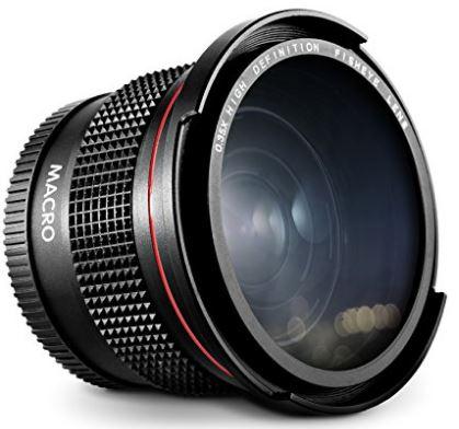 Altura Photo Fisheye Wide Angle Lens for Professional