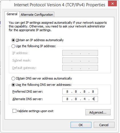 4 Internet Protocol for windows