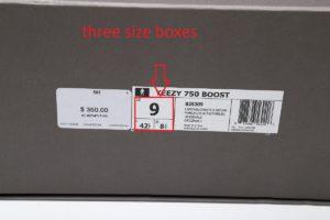 fake adidas box