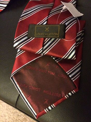 fake louis vuitton tie