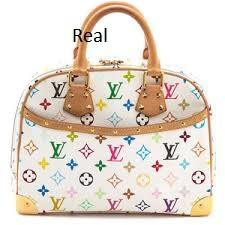 multi real Louis Vuitton identification