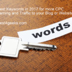 2017 Best high paying CPC keyword