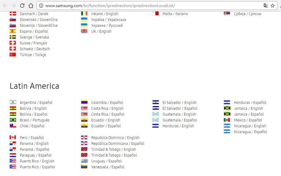 1 Samsung Registration for global