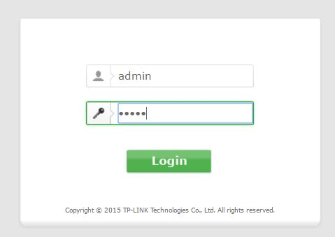 9 login with username and password in rounter dashboard