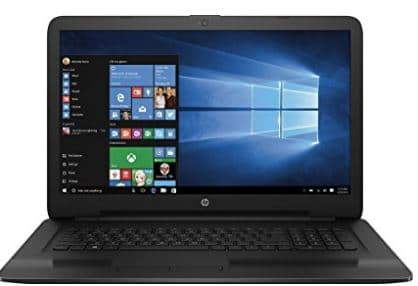 4 HP 17.3 Inch HD laptop for students