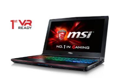 8 VR Ready Gaming laptop