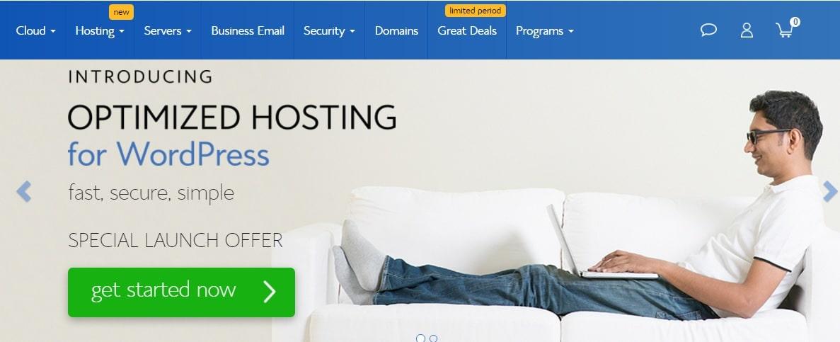Bluehost hosting deals 2017