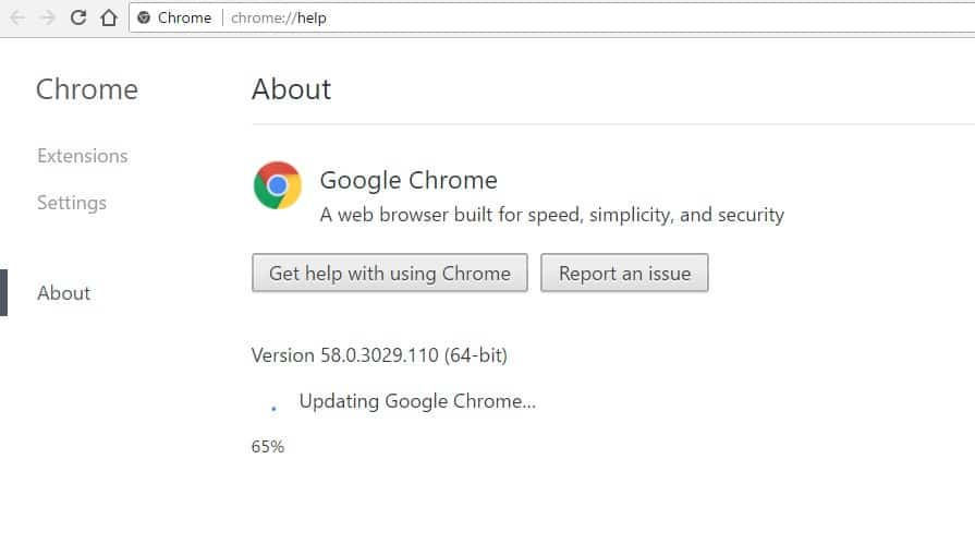 1 Check Google Chrome update on windows PC or Laptop