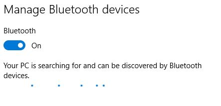 1 Find Bluetooth device from search