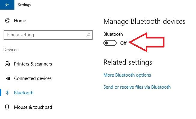 2 Turn on Bluetooth on Windows Laptop or PC