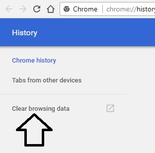 3 Clear Browsing History on Chrome