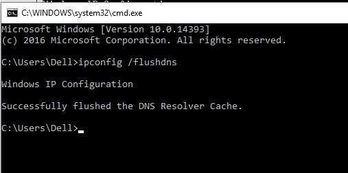 7 Flush DNS settings and cache on windows PC Or Laptop