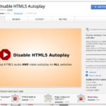 1 Disable HTML 5 Autoplay video on browser chrome