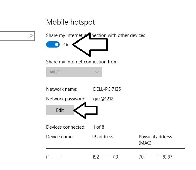 How To Change Ip Address On Mobile Hotspot Set Up a Mobile