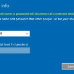 4 Change Mobile Hotspot password in Windows 10