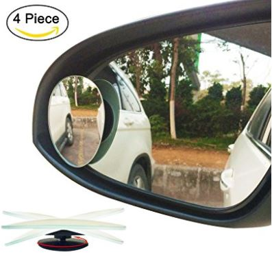 5 Ampper Fraemeless Blind car mirror