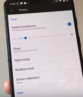2 go with display on oneplus 6