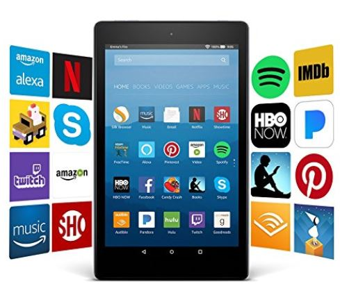 2 Fire HD 8 Tablet with Alexa