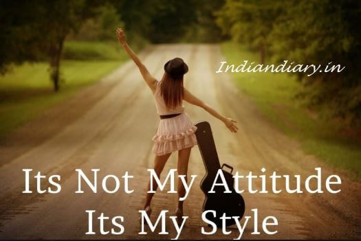 attitude girl facebook photo