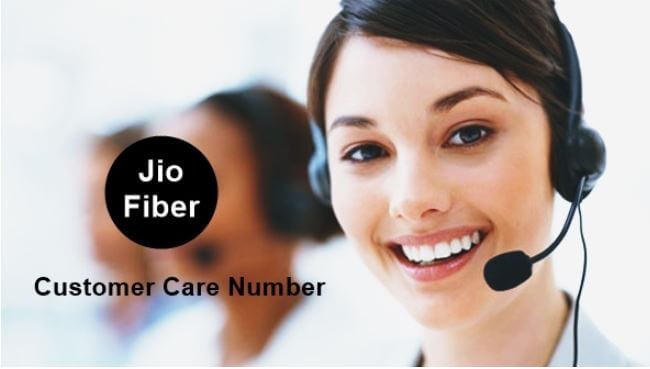 jio fiber customer care