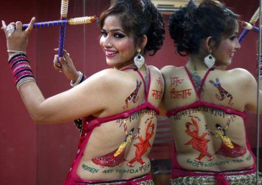 10. Navratri Tattoo Designs for whatsApp image (1)
