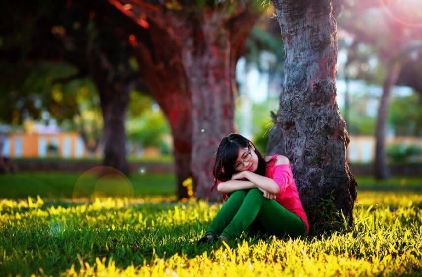 39 silent love girl image