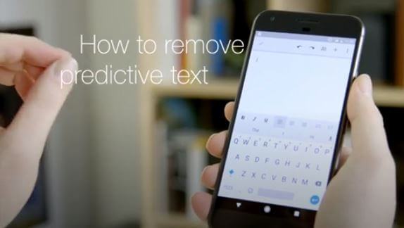 How to Turn On/Off the Predictive Text with OnePlus 6t