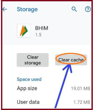 4 tap storage and select clear cache (1)