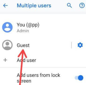 1. guest mode on pixel 3 (1)