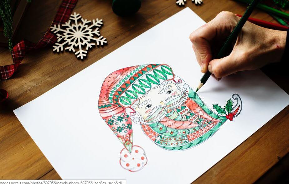 18.hand made Christmas card image-christmas image (1)