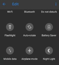 2. Reset quick settings tiles on Google Pixel 3 and Pixel 3 XL
