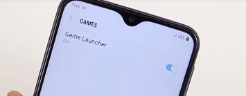 Enable Game Launcher on Android Galaxy M20