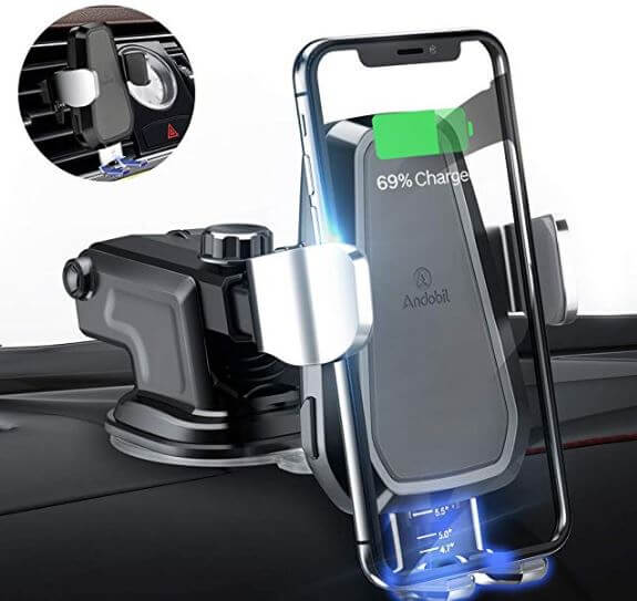 Andobil Wireless Car charger for Galaxy S10