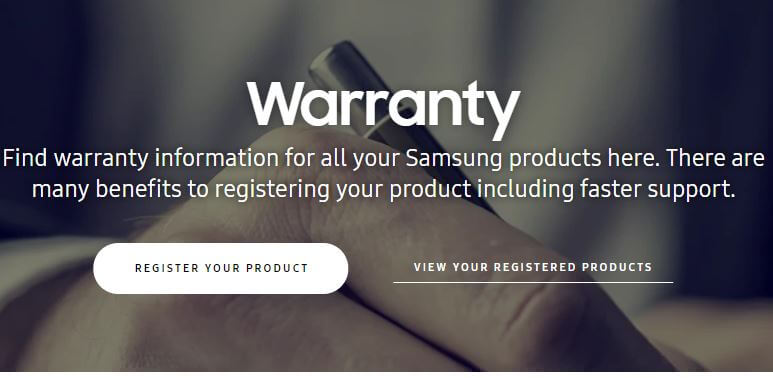 Check the Warrenty Status of your Samsung Device