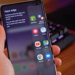 Enable or Disable edge panel on Galaxy S10 Plus Galaxy S10 or Galaxy S10e