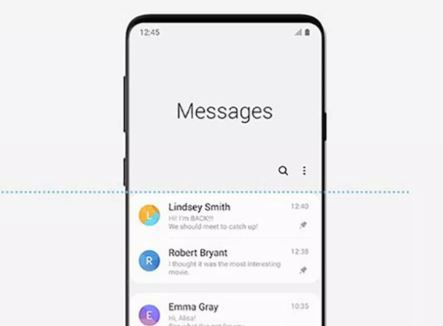 Galaxy S10 cant send message