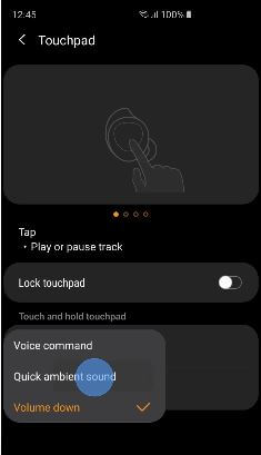Quick Ambient Sound on Ear buds