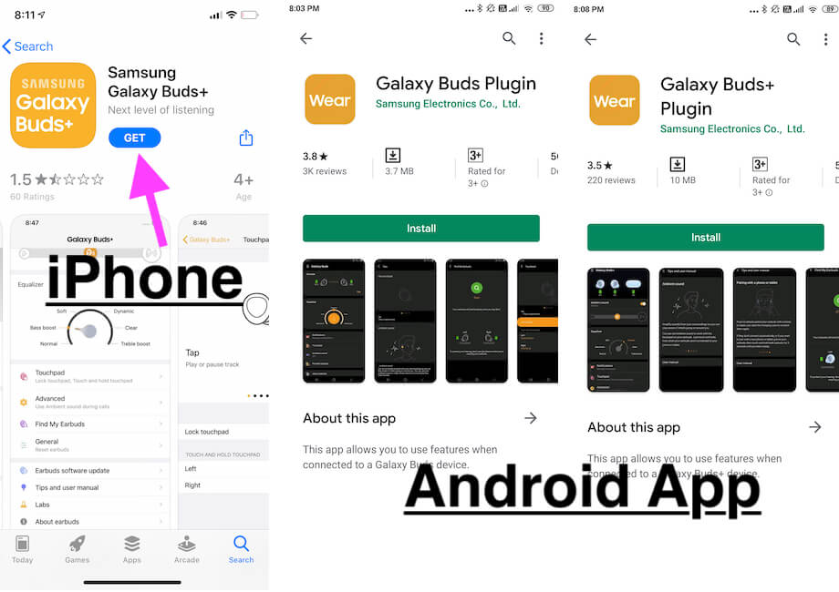 Reset or Factory Reset Galaxy Buds without Wearable app or Other mobile on iphone